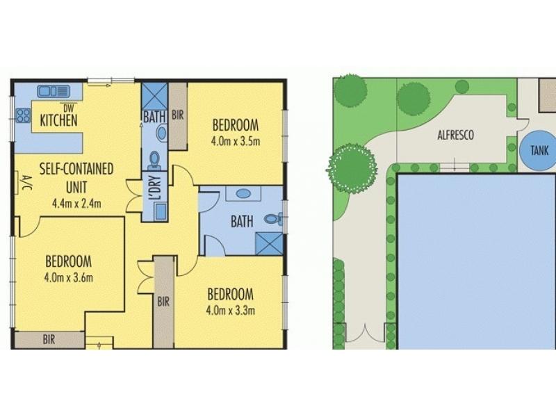 Chadstone区3大房2卫带独立厨房洗衣房整租,450刀/周,1月中旬可入住