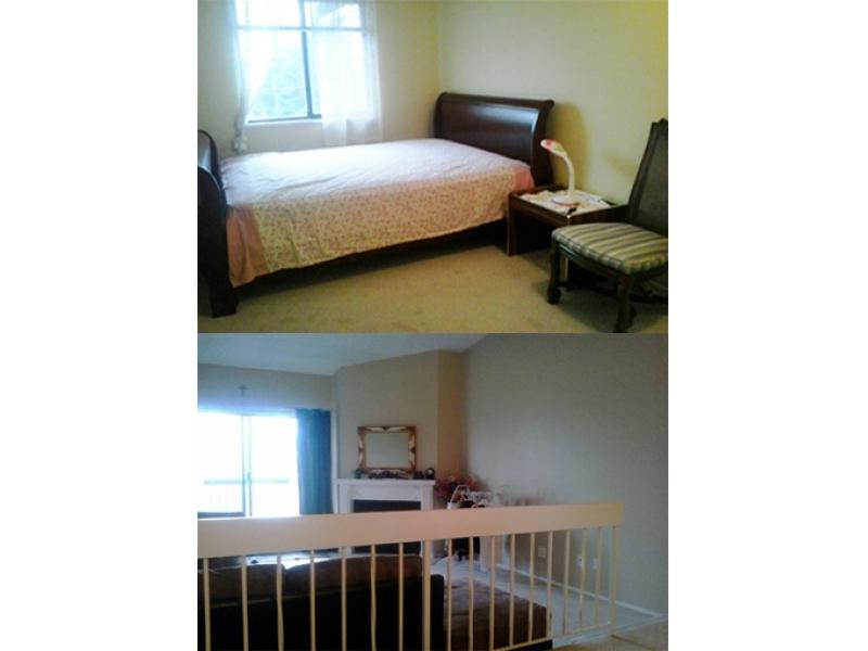 短租公寓阳光单人房每月$330, 近SFU素里分校,欢迎学生
